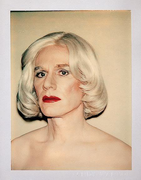 Andy Warhol autoportretas, 1981