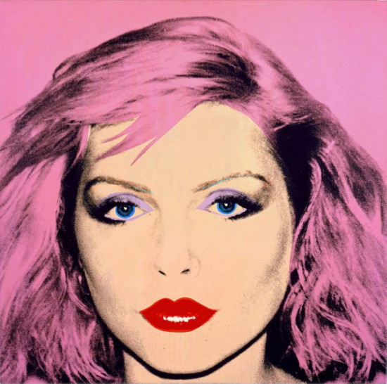 Debbie Harry, Andy Warhol