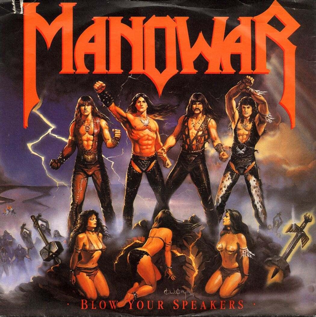 Manowar - blow your speakers